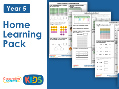 Year 5 Summer Week 2 Home Learning Maths Pack