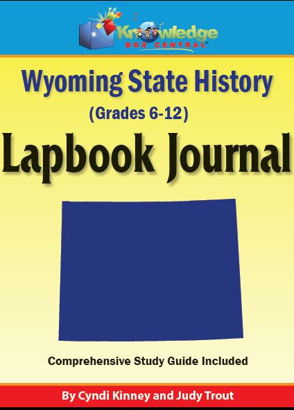 Wyoming State History Lapbook Journal
