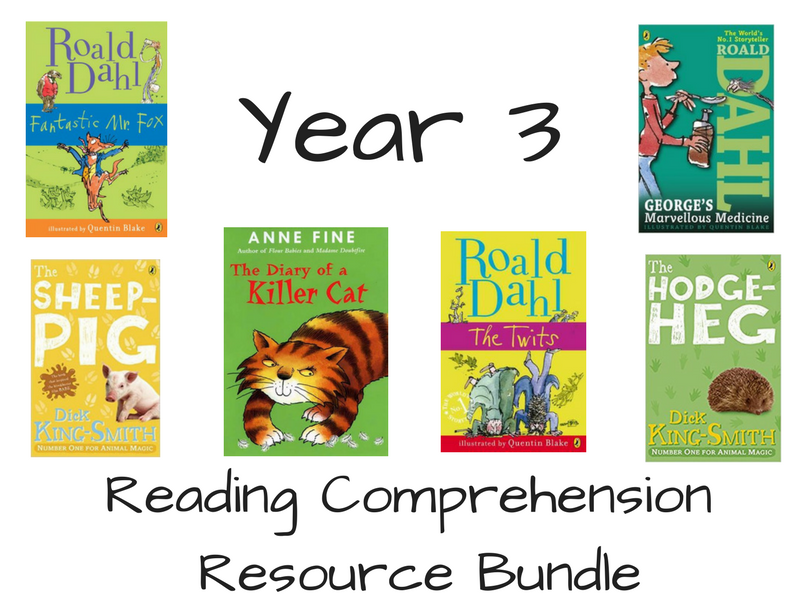 Year 3 Reading Resources Bundle