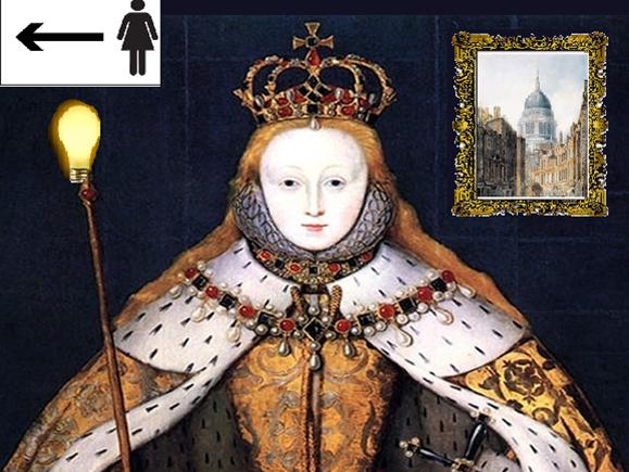 The Tudors: Elizabeth I's portraits