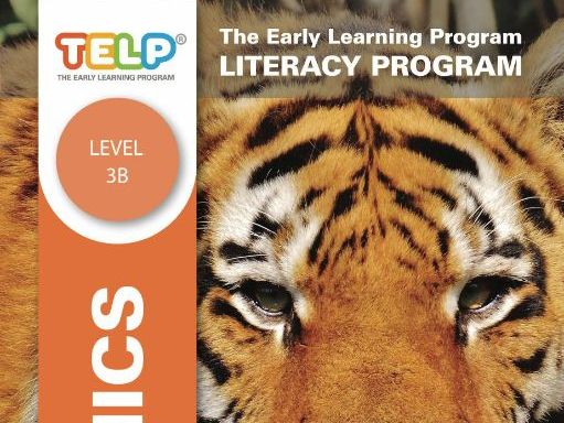 Phonics 3B - TELP's Literacy Program