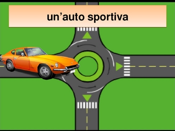 Veicoli (Vehicles in Italian) power point