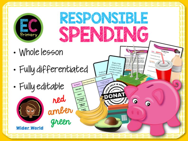 Responsible Spending PSHE