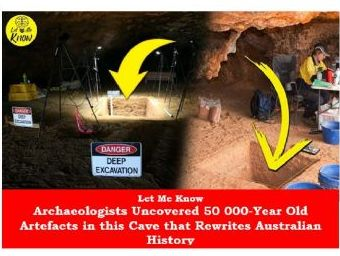 Archaeologists Uncovered 50 000 Year Old Artefacts