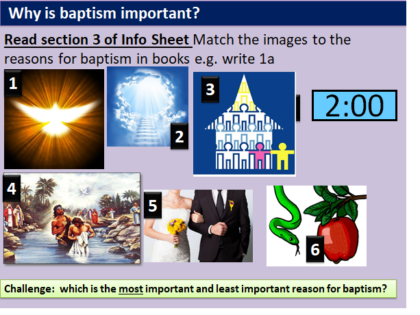 BAPTISM SACRAMENT (AQA CHRISTIAN BELIEFS):  Believers/Infant Baptism