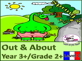 PRIMARY FRENCH UNIT YEAR 3+/GRADE 2+: OUT & ABOUT