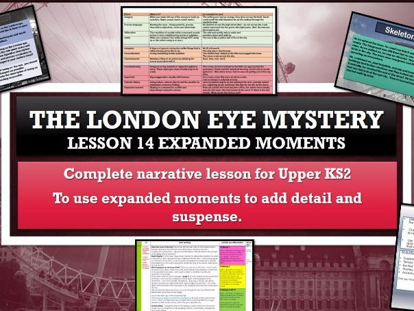 The London Eye Mystery - Lesson 14 - Expanded moments