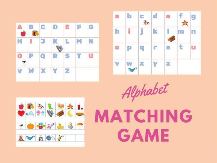 EYFS Alphabet Matching Game
