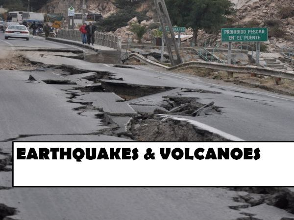 Geography Exam Questions - Earthquakes and Volcanoes