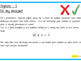 Y5 Mathematical Challenges - Multi Strand