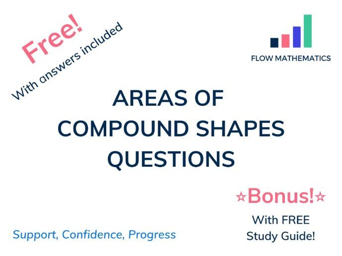 Areas of compound shapes