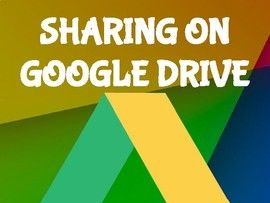 Sharing on Google Drive: Everything you need to know!