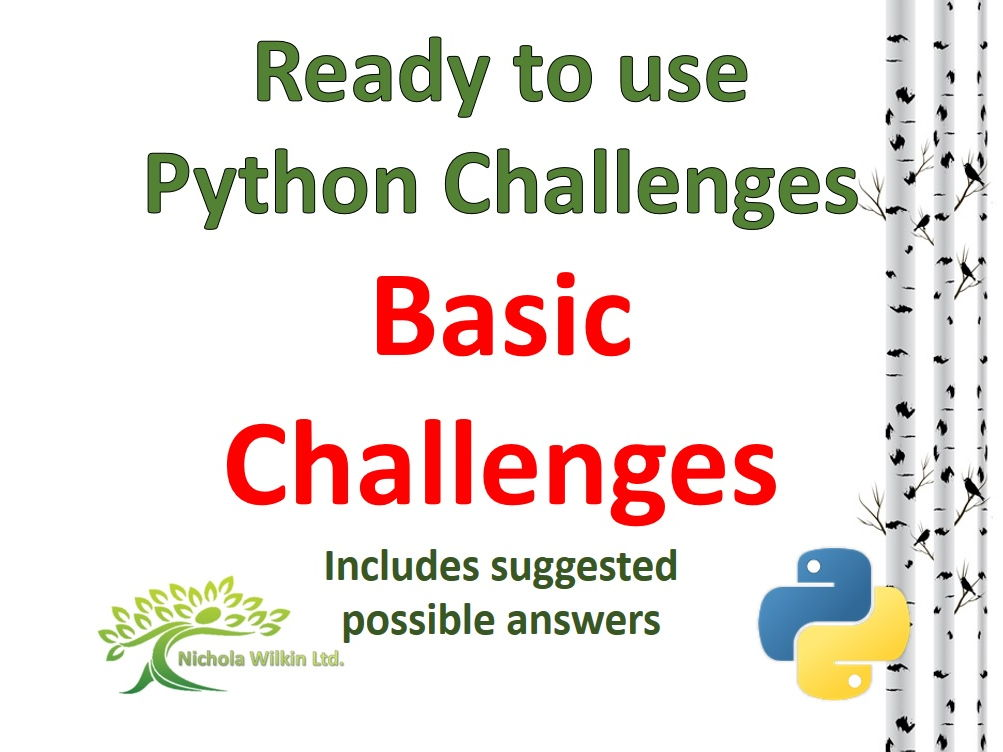 Basic Challenges Python Bundle