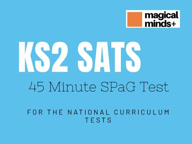 KS2 SATS SPaG Test & Teacher Notes and Answers