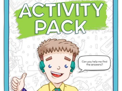 Printable Code-it Cody activity pack: Clever Tykes Enterprise Education Storybooks