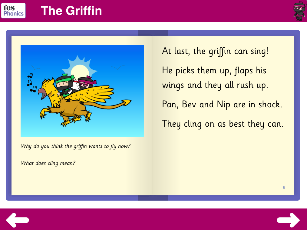 The Griffin Reading Book - Phase 3