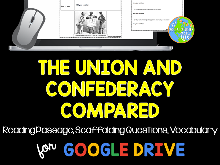 Civil War - Union and Confederacy Compared