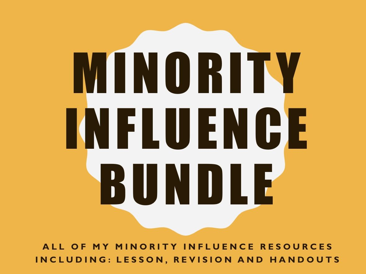 Minority Influence Bundle