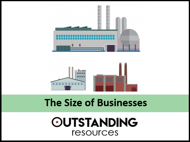 Economics Lesson - Size of Firms, Sector of Businesses and Economies of Scale