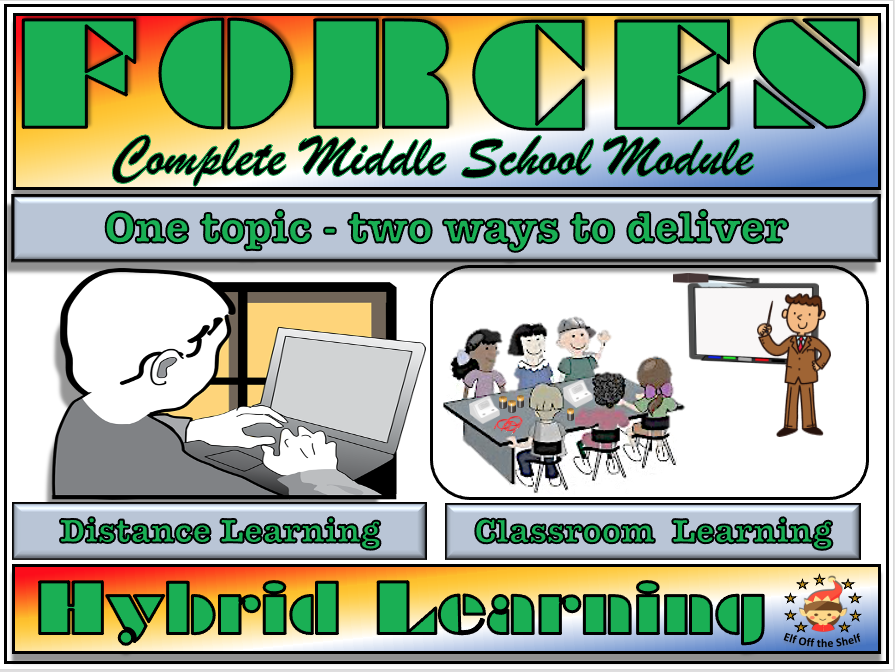 Forces - The Complete Classroom, Distance and Blended Module for KS3