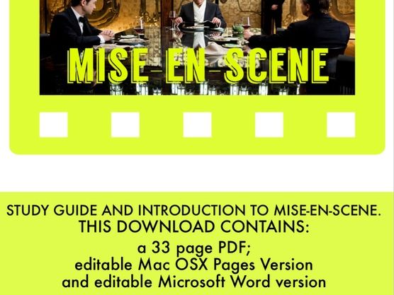 Mise-en-scene: a workbook and guide