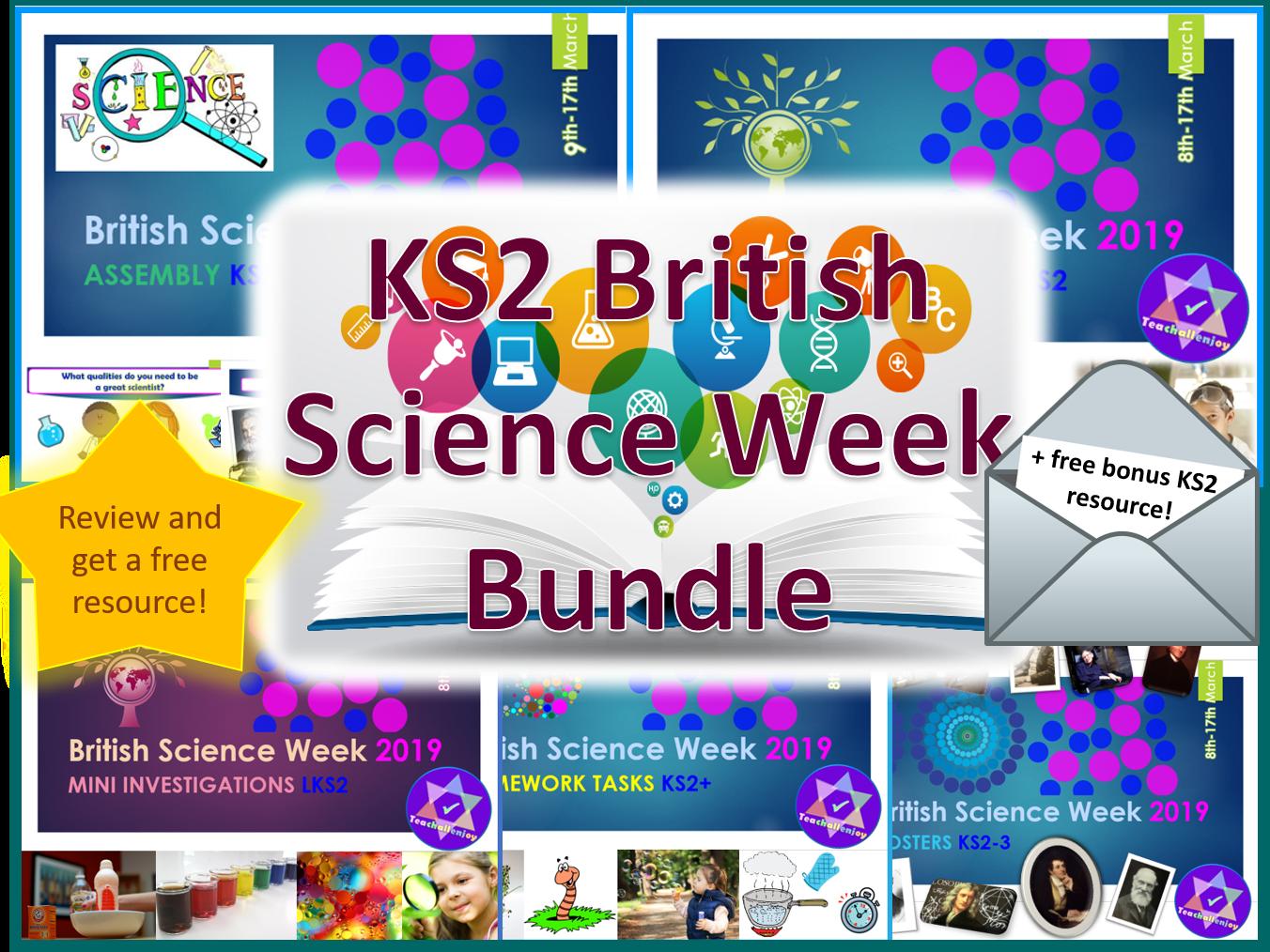 British Science Week KS2 Bundle