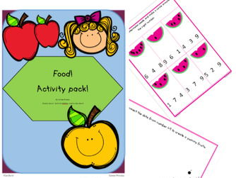 Food! Activity pack!