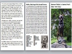 Balto, the Dog Who Saved Nome Activity Pack