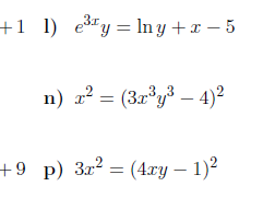 Implicit differentiation worksheet (with detailed solutions)