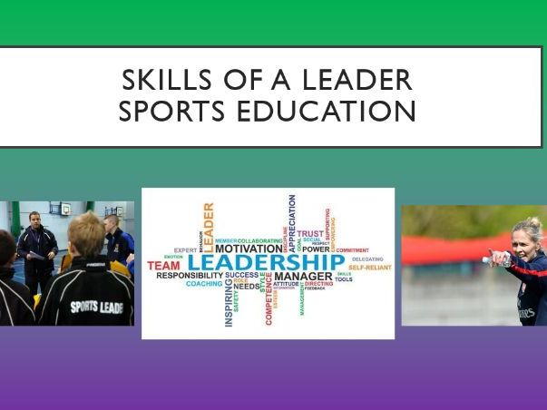 Sports Education SOW with Skills of a Leader Student Developmental Theory.