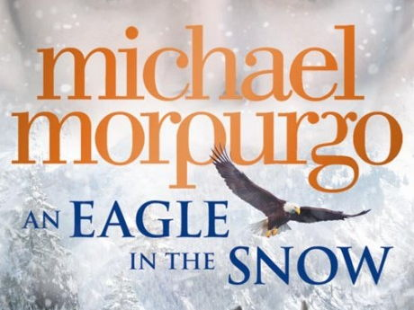 Image result for an eagle in the snow