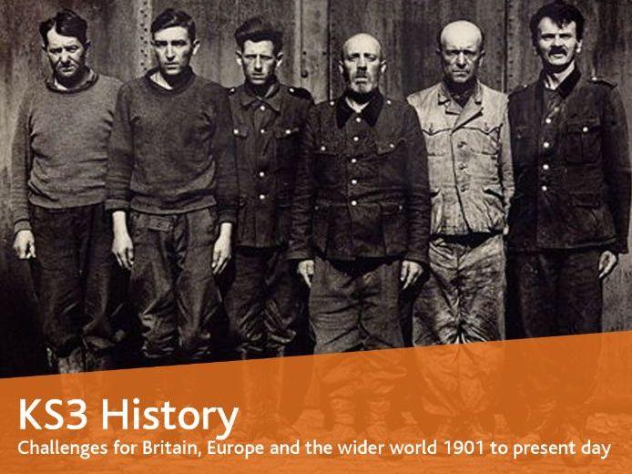 Belsen Concentration Camp 1945