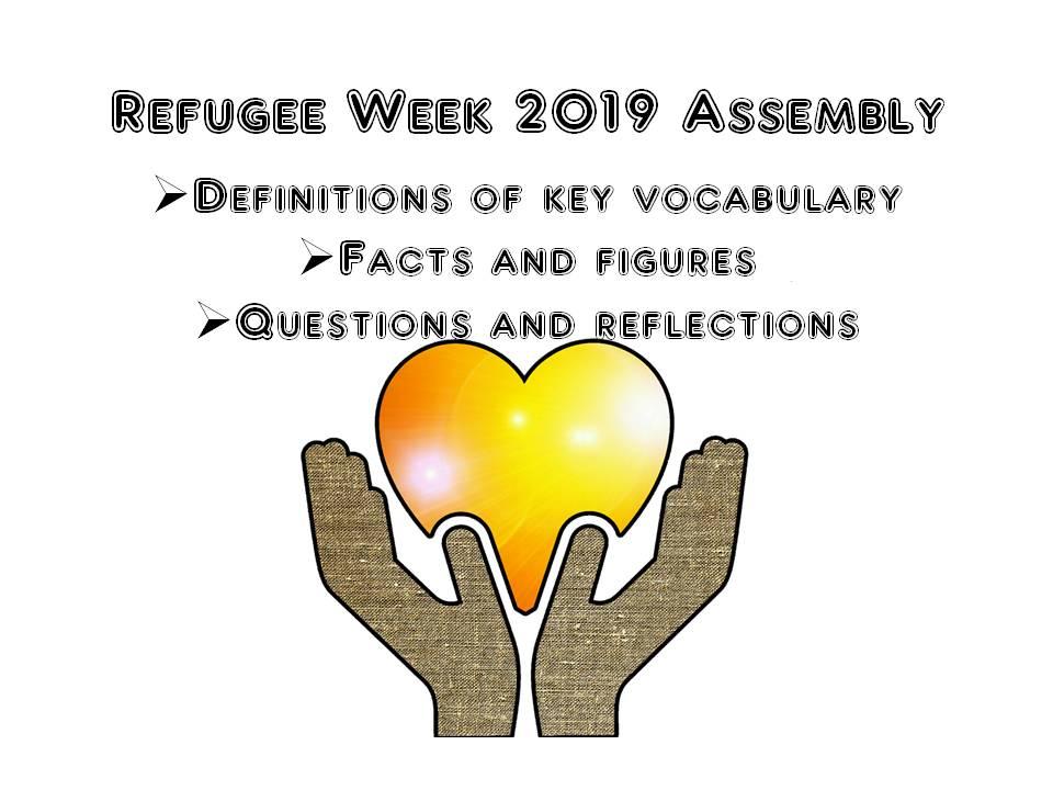 Refugee Week Assembly 2019