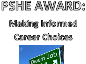 AQA PSHE- Making Informed Career Choices