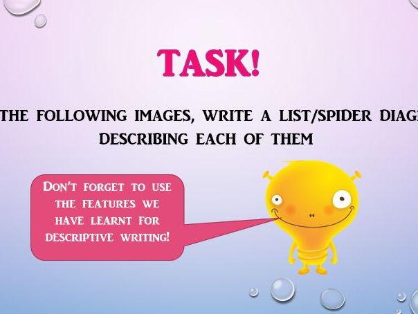 KS3/GCSE Writing to Describe!