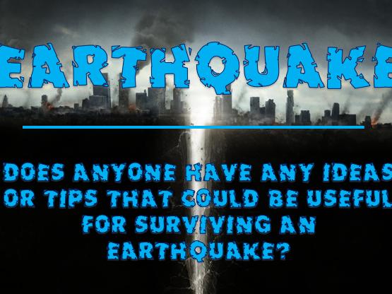 Extreme Weather #3 - Earthquake
