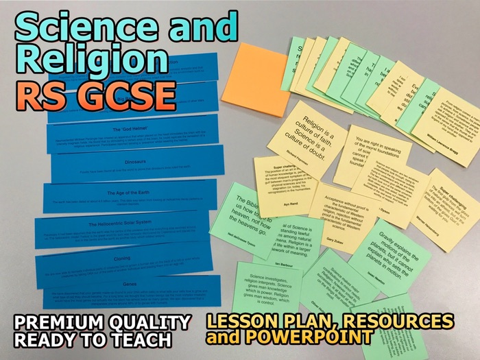 Science and Religion AQA 9-1 GCSE (The Existence of God and Revelation 5 4)