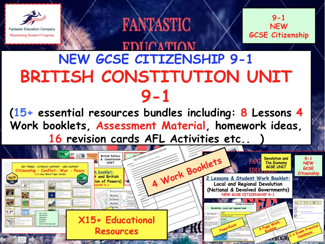 British Constitution and Politics UNIT GCSE Citizenship 9-1