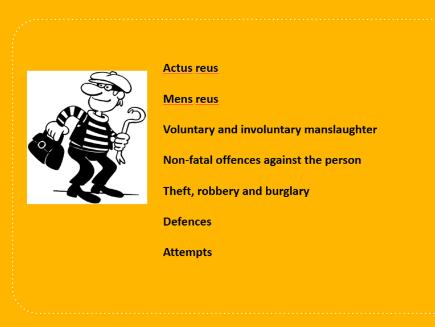 OCR Law Criminal Law Revision Booklet