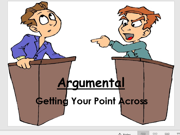 Argumental - A good, old-fashioned debate