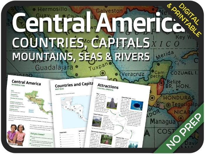 Geography - Central America