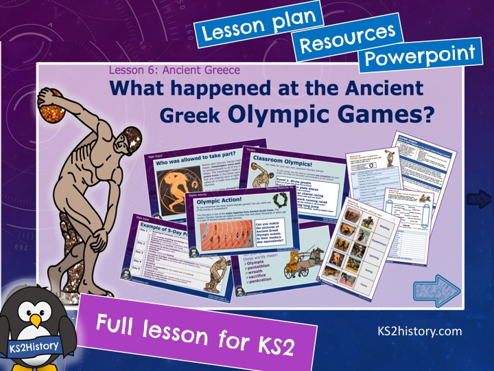 Ancient Greek Olympics (Lesson for KS2)
