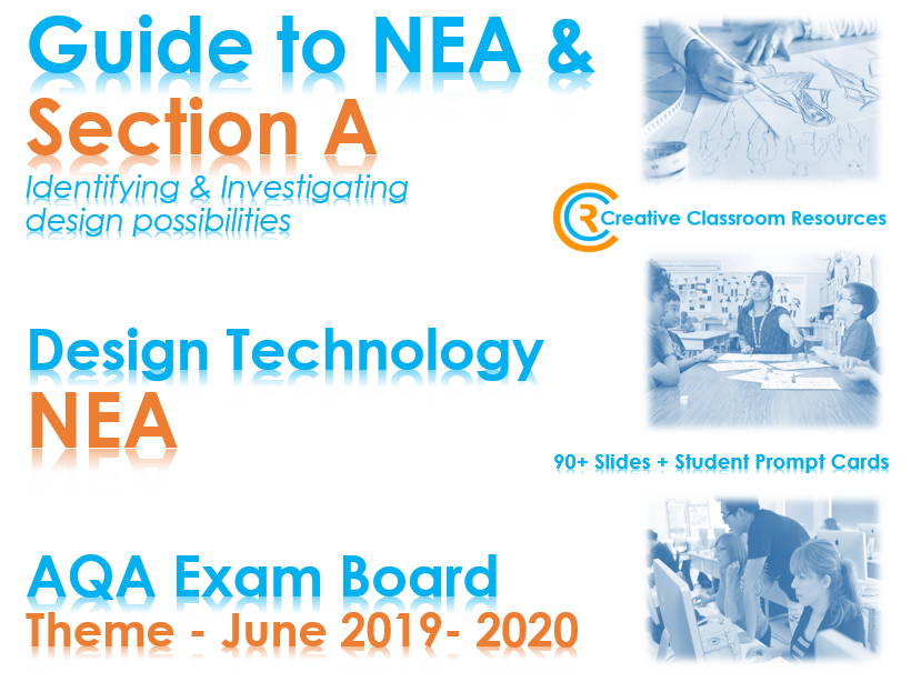 GCSE DT NEA AQA Guide to Context & Section A - NEW & IMPROVED!
