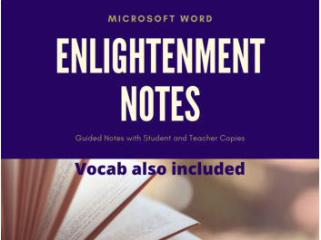 Enlightenment Guided Notes