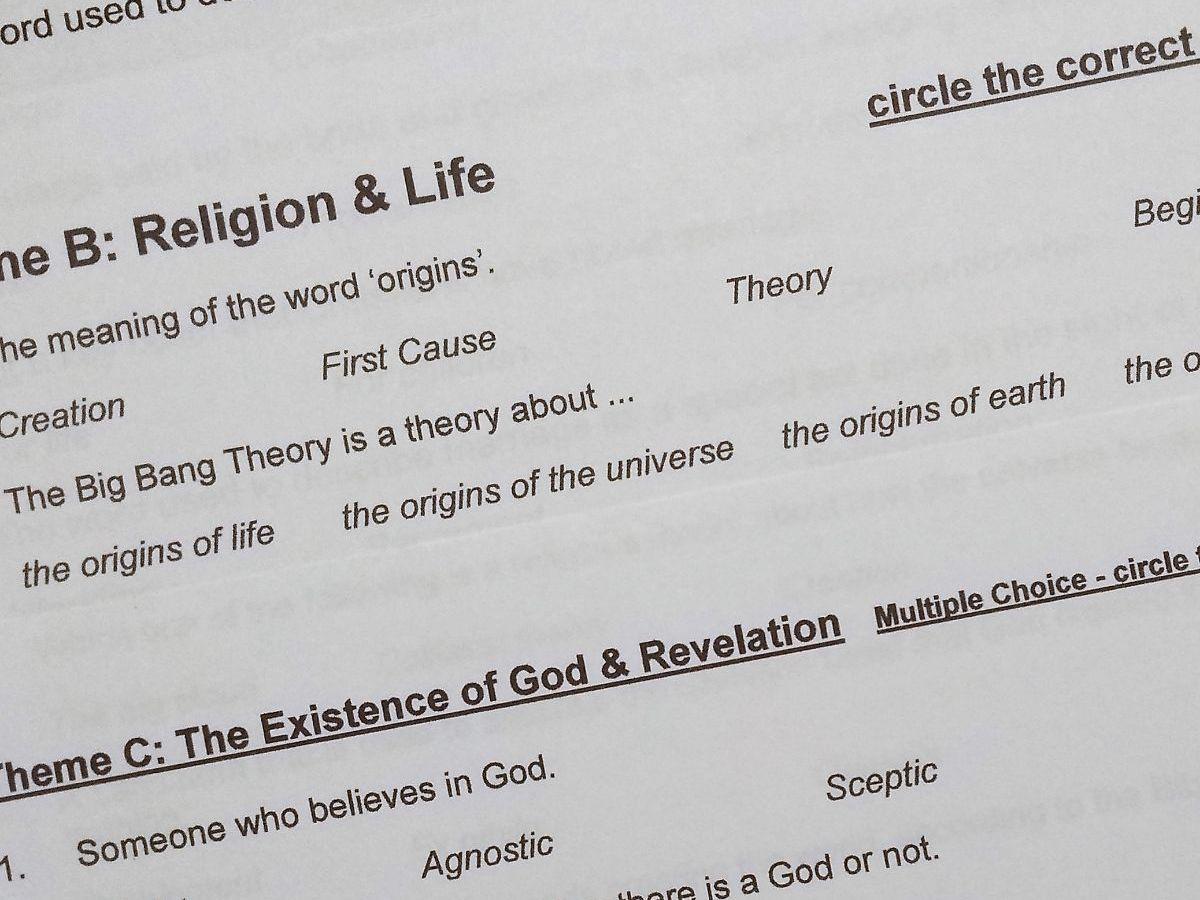 Themes bundle for AQA GCSE Religious Studies Paper 2A