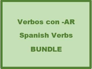 Verbos con AR (Spanish AR Verbs) Bundle