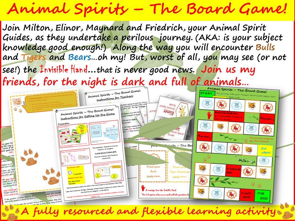 Animal Spirits - The Board Game!