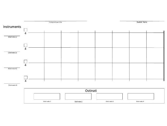Minimalism Composition Template