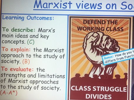 Marxist Perspective on Society - Sociological Theory