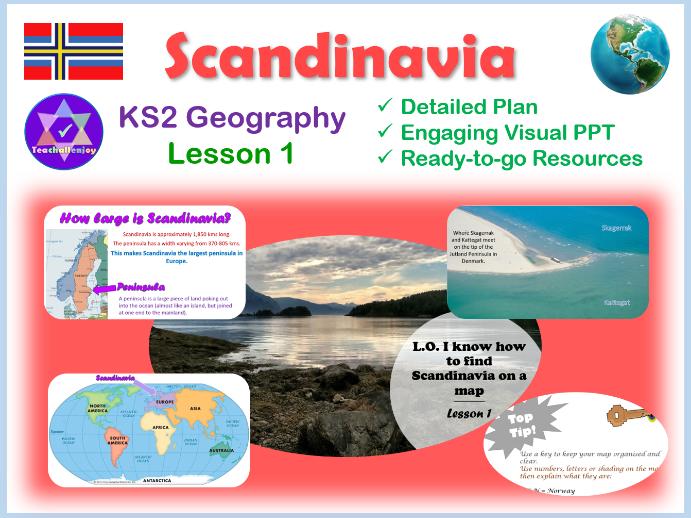 Scandinavia Map Lesson 1